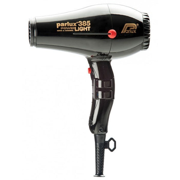 Parlux 385 Powerlight Ceramic and Ionic Dryer 2150W Black