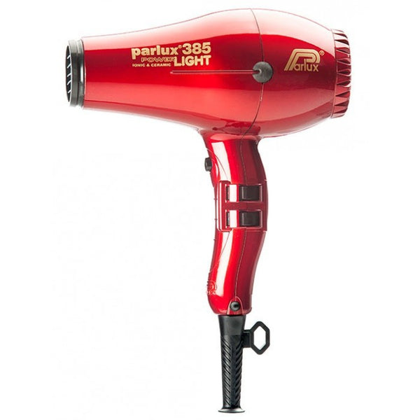 Parlux 385 Powerlight Ceramic and Ionic Dryer 2150W Red