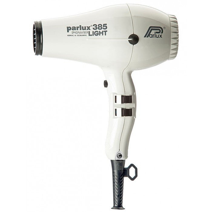 Parlux 385 Powerlight Ceramic and Ionic Dryer 2150W White
