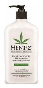 Hempz Fresh Coconut  Watermelon Herbal Body Moisturizer