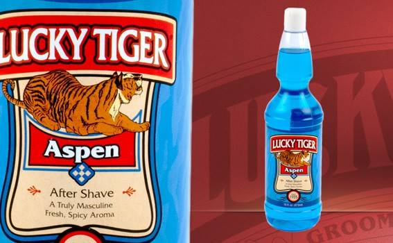Lucky Tiger After Shave Aspen