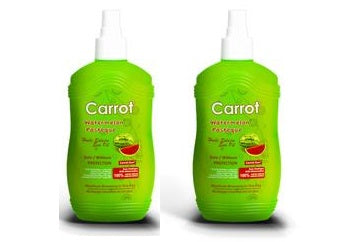 Carrot Sun Australia Watermelon Tanning Oil 200ml Duo Pack