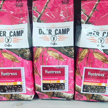 Load image into Gallery viewer, DEER CAMP® Coffee Huntress™ Chocolate Featuring Realtree EDGE™ Colors 12 oz Medium Roasted Ground Coffee