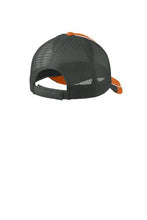 Load image into Gallery viewer, Deer Camp® Coffee Deer Head Logo (Orange | White | Gray) Mesh Back Cap