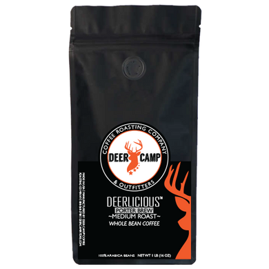DEER CAMP® Coffee DEERLICIOUS™ PORTER BREW 1 lb. Whole Bean