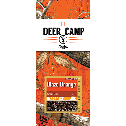 Blaze Orange™ Pumpkin Spice Featuring Realtree EDGE™ Colors 12 oz. Dark Roasted Ground Coffee