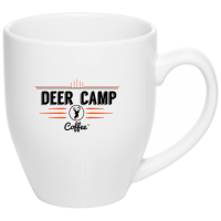 DEER CAMP® Coffee Logo 16 oz. Bistro Mug