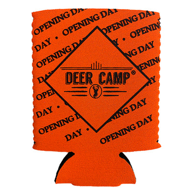 DEER CAMP® Coffee Opening Day™ Cooler Comrade™ Can Cooler (Orange | Black)