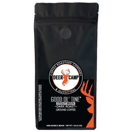 DEER CAMP® Coffee GOOD OL' TINE™ STOUT BREW 1 lb. Ground