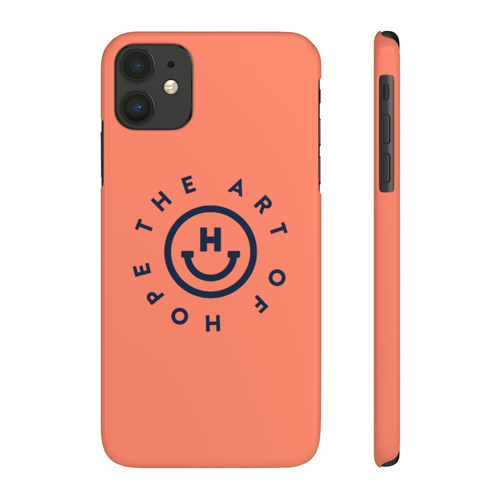 Case Mate Slim Phone Cases (Orange)