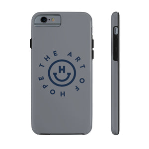 The Art of Hope Logo: Case Mate Tough Phone Cases (Grey)
