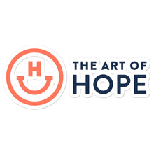 Load image into Gallery viewer, The Art of Hope Logo stickers