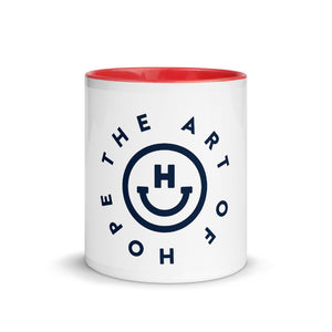 The Art of Hope Mug with Color Inside