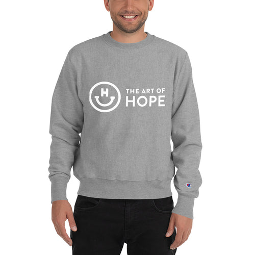 The art of Hope Logo Champion Sweatshirt