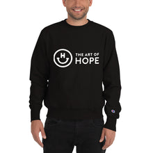 Load image into Gallery viewer, The art of Hope Logo Champion Sweatshirt