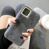 Faux Fur Plush Warm Case for iPhone
