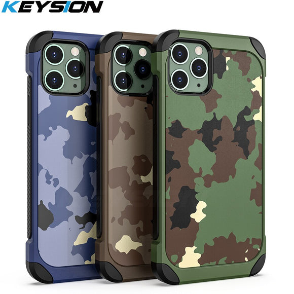 Camouflage Shockproof Case for iPhone
