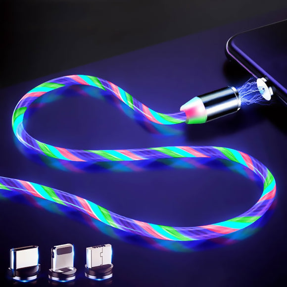 Luminous Phone Charger Cord + Attachments