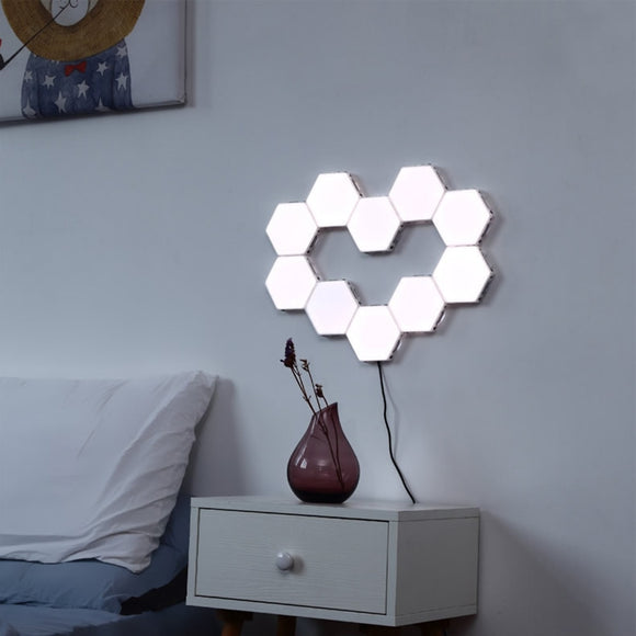 Hex Touch LED Wall Lamp Magnetic Panels