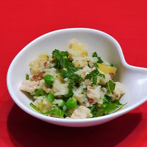 Chicken & Kale Rice Pot