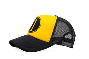 Number 1 Trucker- Black & Yellow