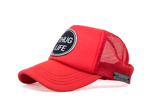 Thug Life Trucker - Red & White