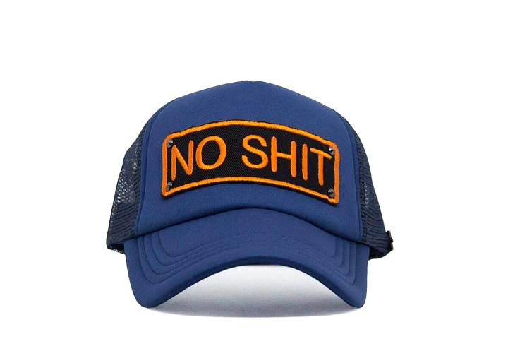 No Shit Trucker - Nite Blue & Orange