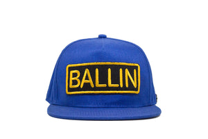 Ballin Snapback - Blue & Yellow