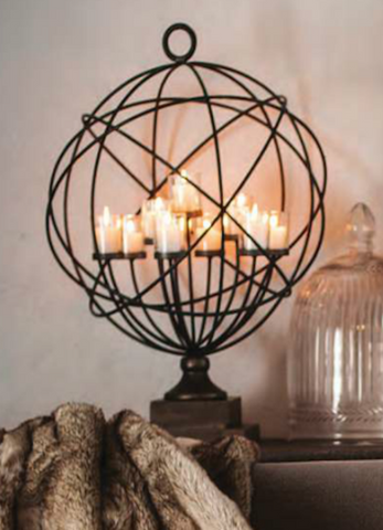 Candles, Lanterns, Candelabras & Birdcages