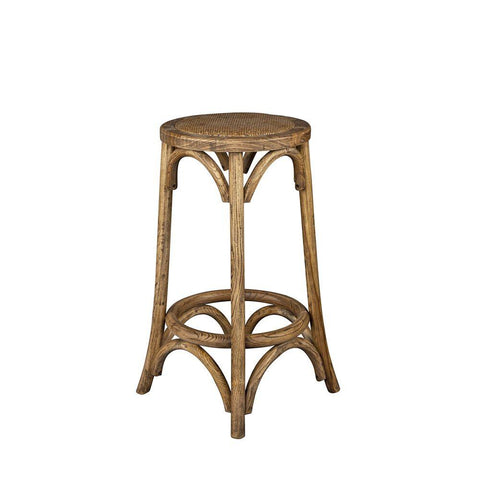 Rattan Denver Stool - Natural