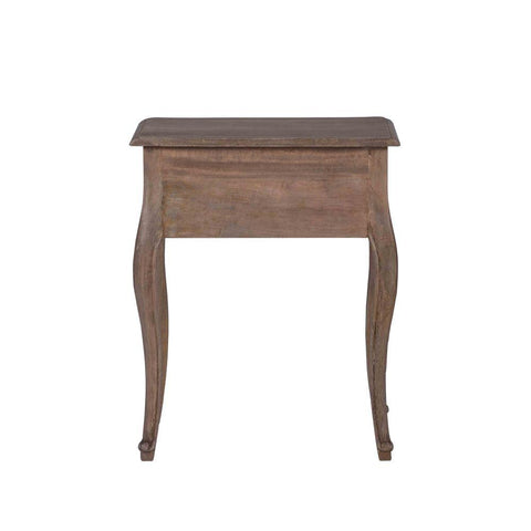 French Styled Timber Bedside Table