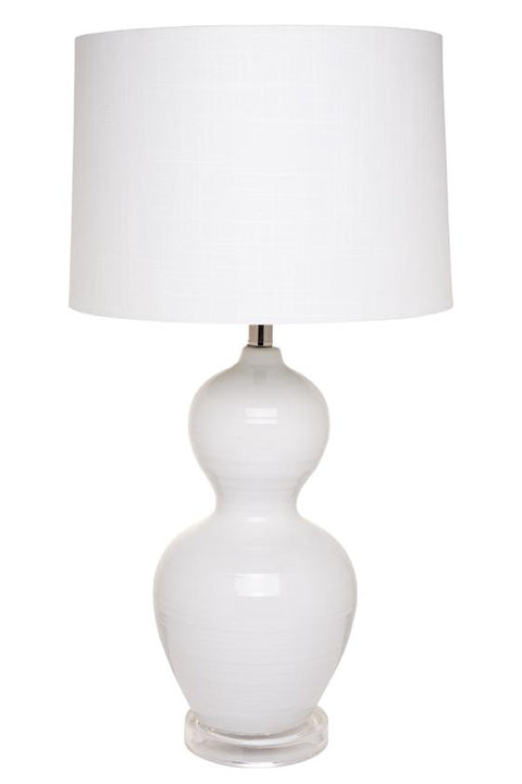 Bronte Table Lamp - White
