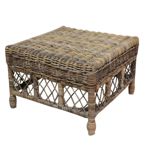 Square Rattan Coffee Table