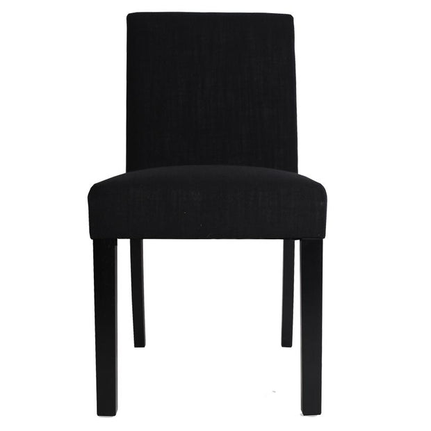 Tom Dining Chair Black  - Set of 2