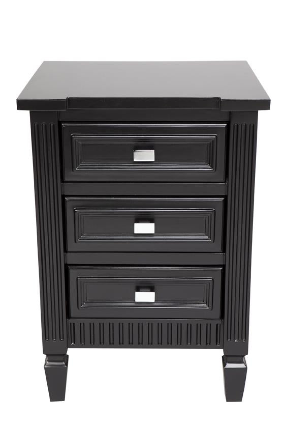 Merci Bedside Table - Small Black