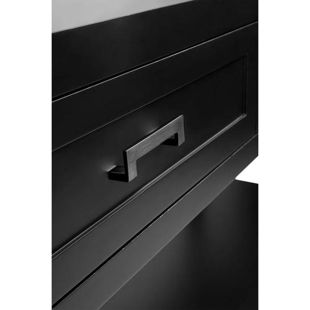 Soloman Console Table - Black