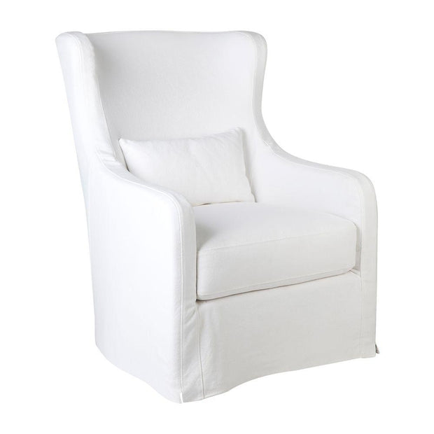 Riviera Swivel Occasional Chair - White
