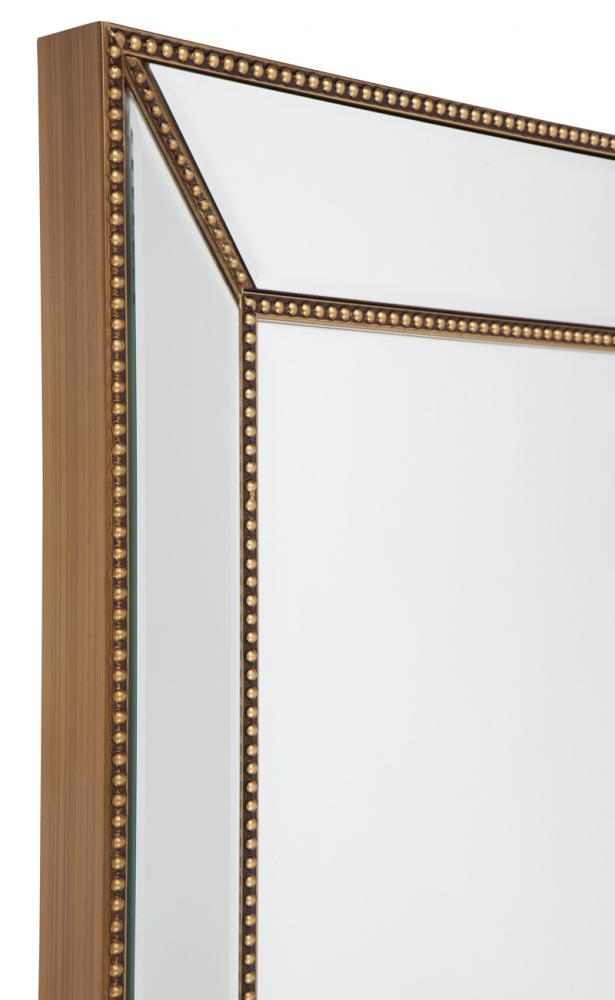 Zeta Wall Mirror - Large Antique Gold