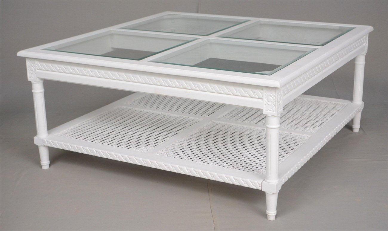Merveilleux Polo Coffee Table   White