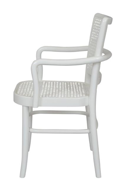 Palm Armed Rattan Dining Chair - Set of 2