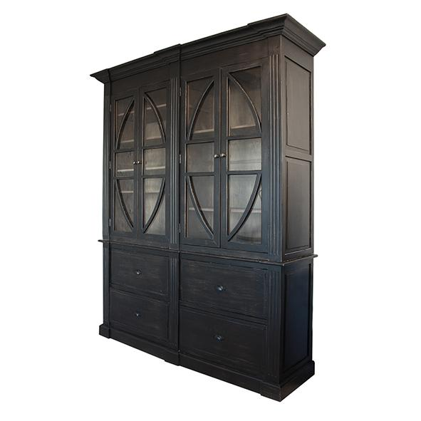 Vienna Black Display Cabinet