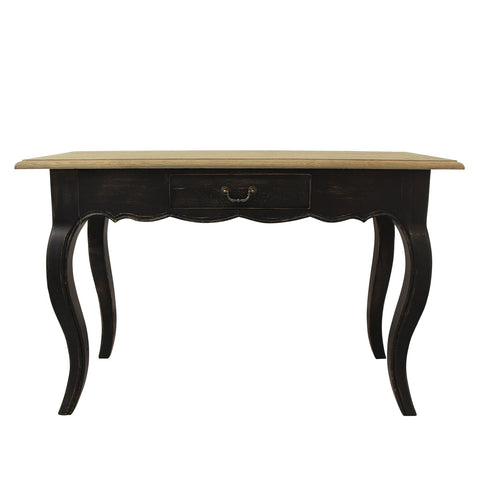 Black & Timber Writing Desk