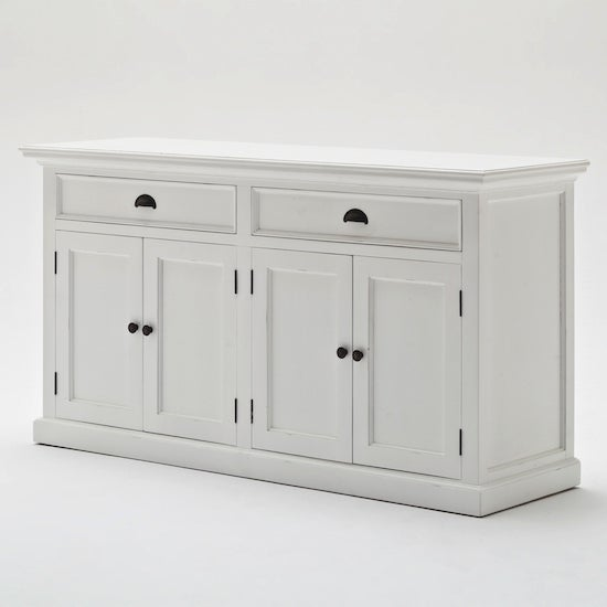 Hamptons Style Buffet with 4 doors & 2 drawers