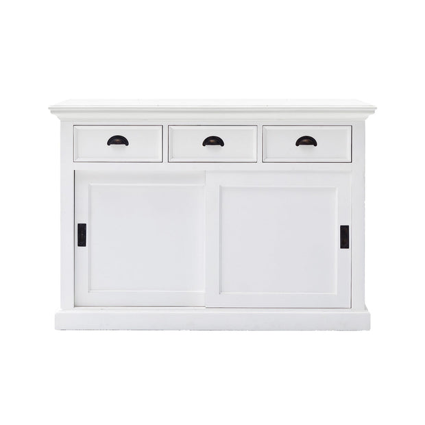 Hamptons Style Buffet - 2 sliding doors & 3 drawers