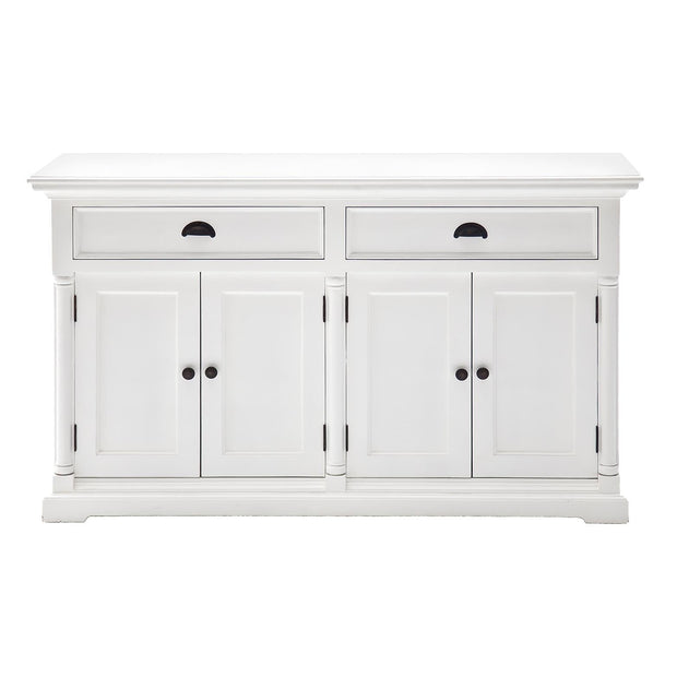 French Provincial Style Buffet with 2 Drawers & 4 Doors