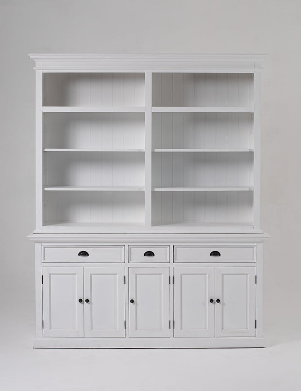 Hutch Bookcase 5 Doors 3 Drawers