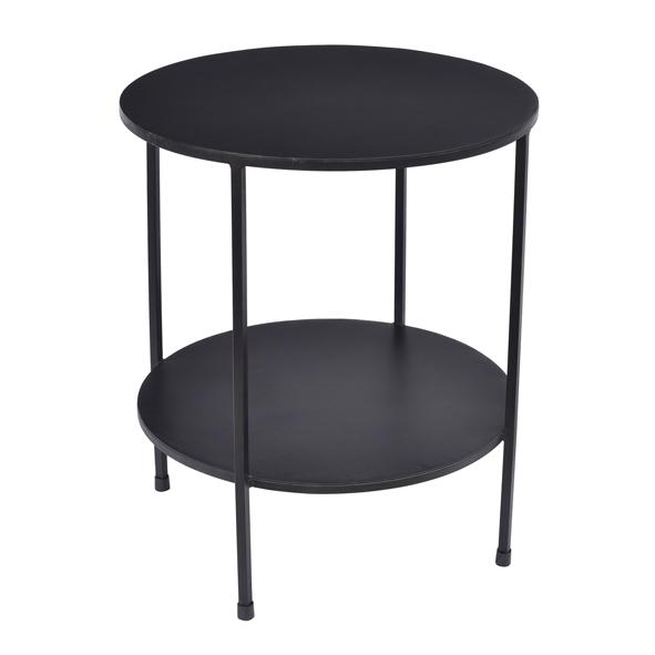Benny - Black Metal Side Table