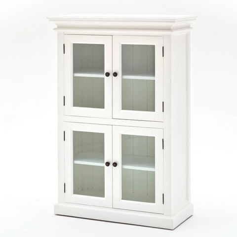 4 Door Pantry with glass - Allissias Attic & Vintage French Style  - 2