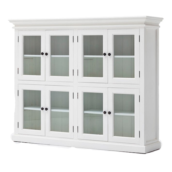 8 Door Pantry with glass - Allissias Attic & Vintage French Style  - 1