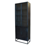 Industrial Tall Metal Cabinet